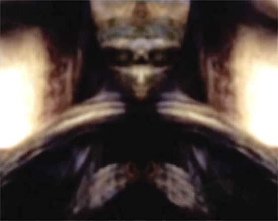 figura ser extraterrestre mona lisa - Descubren la figura de un ser extraterrestre oculto en la Mona Lisa