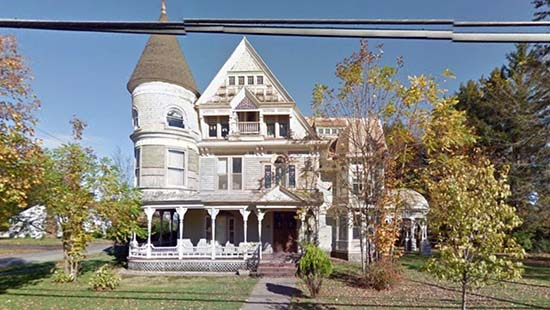 Casa embrujada descubierta Google Street View