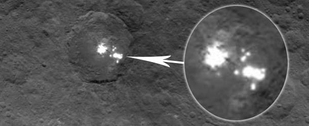 ciudades extraterrestres ceres - Imágenes de la NASA muestran la existencia de ciudades extraterrestres en el planeta Ceres