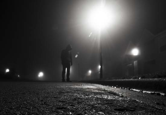 Encuentros autoestopistas fantasmas