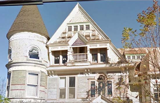 Famosa casa embrujada Google Street View