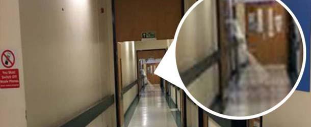 hospital fantasma nina - Trabajador de un hospital de Inglaterra fotografía el fantasma de una niña
