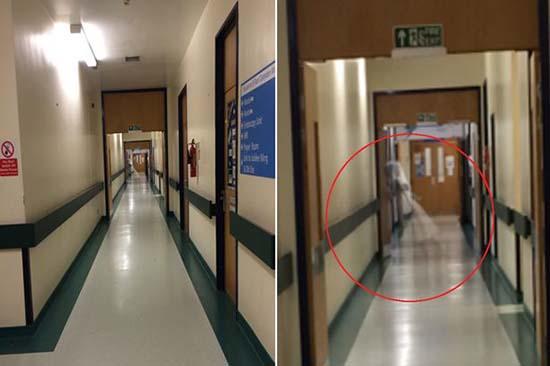 hospital inglaterra fantasma nina - Trabajador de un hospital de Inglaterra fotografía el fantasma de una niña