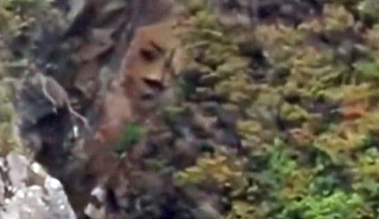 misterioso rostro acantilado canada - Descubren un misterioso rostro en un acantilado de una isla remota de Canadá