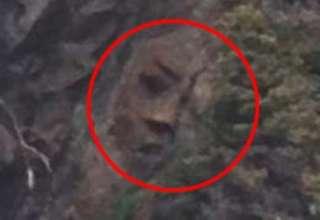 misterioso rostro canada 320x220 - Descubren un misterioso rostro en un acantilado de una isla remota de Canadá