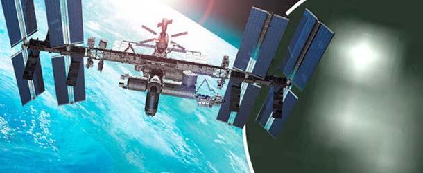 nasa estacion espacial internacional ovnis - La NASA vuelve a cortar la señal de video de la Estación Espacial Internacional después de la aparición de varios ovnis
