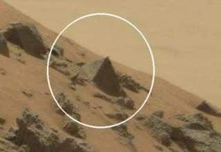 piramide marte 320x220 - El rover Curiosity de la NASA fotografía una gran pirámide en Marte