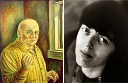 Escritores fantasma escritas espíritus