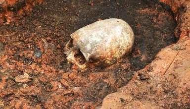esqueleto ser extraterrestre stonehenge rusia 384x220 - Descubren el esqueleto de un ser extraterrestre en el Stonehenge de Rusia