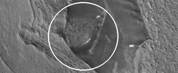 estructuras extraterrestres marte - Imágenes de la NASA muestran estructuras extraterrestres en Marte