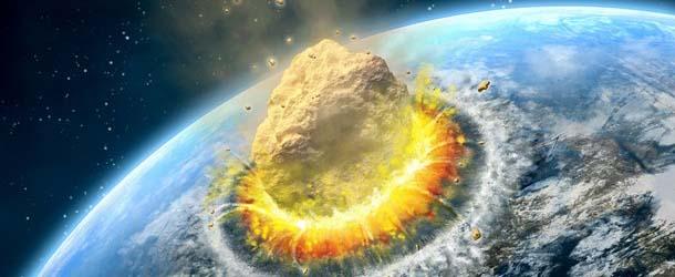 Resultado de imagen de La Tierra después de recibir un gran impacto de Asteroide