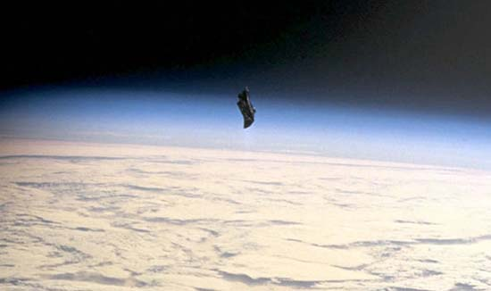 "caballero negro florida - Graban en video al legendario satélite extraterrestre ""Caballero Negro"" sobre Florida"