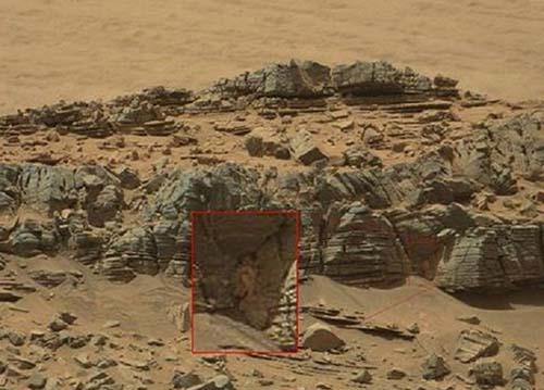 Cangrejo extraterrestre Marte