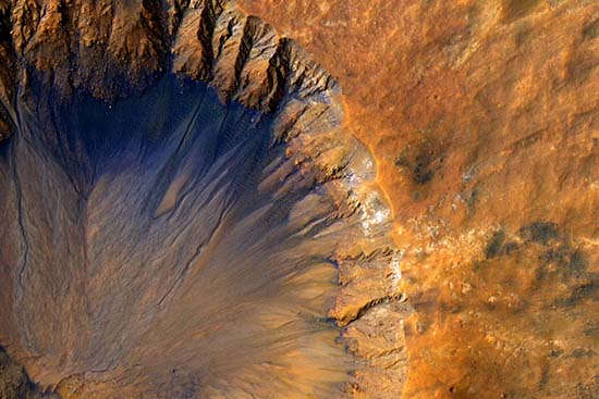 agua vida extraterrestre marte - La NASA confirma que hay agua y que podría haber vida extraterrestre en Marte