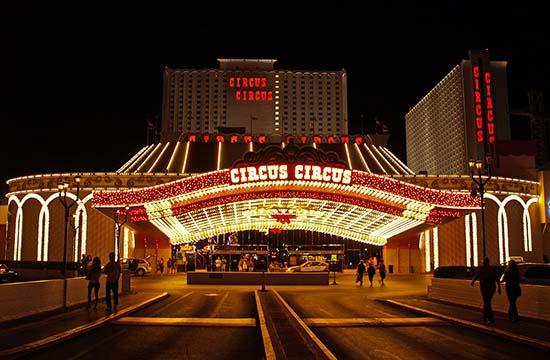 circus circus - Los casinos embrujados de Las Vegas