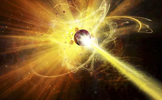 Colisionador Hadrones asteroide
