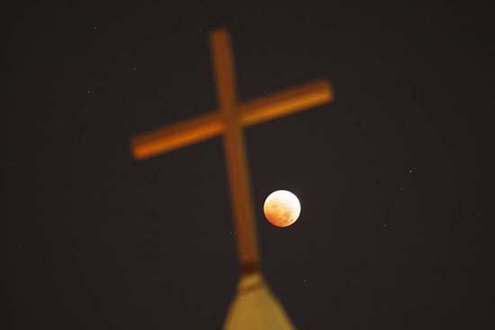 Eclipse de Superluna sangre