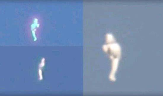 humanoide los angeles - Varios testigos ven un humanoide volando sobre Los Ángeles