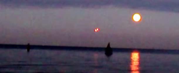 El video de un OVNI sobre el mar Báltico desata la guerra en las redes sociales