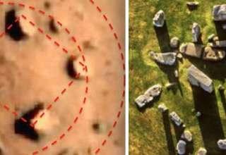 """stonehenge marte 320x220 - Investigadores hallan un """"Stonehenge"""" en Marte"""