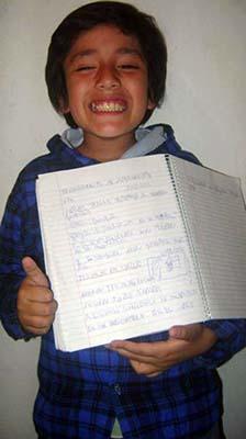 tsunami chile - Niño de ocho años predijo el mortal terremoto y tsunami de Chile horas antes de que ocurriera