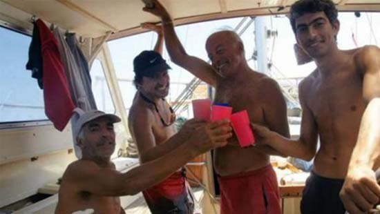 Barco desaparece Triángulo Bermudas