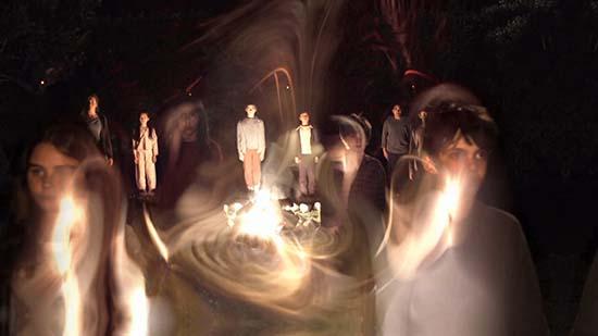 Espíritus noche Halloween