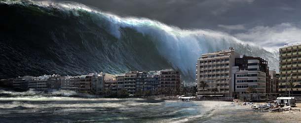 megatsunami en cualquier momento - Científicos advierten que un megatsunami podría destruir ciudades enteras en cualquier momento