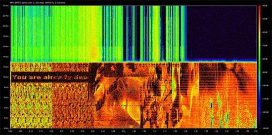 Misterioso video criptográfico Internet
