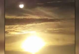 nibiru florida 320x220 - Una mujer cree haber grabado en video al legendario planeta Nibiru frente a la costa de Florida