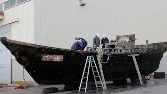 barcos fantasmas costas japon - Aparecen barcos fantasmas en las costas de Japón con cadáveres y esqueletos sin cabeza