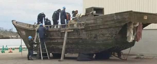 barcos fantasmas japon - Aparecen barcos fantasmas en las costas de Japón con cadáveres y esqueletos sin cabeza