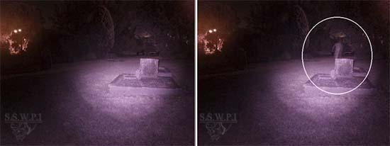 figura fantasmal en un cementerio australia - Investigadores fotografían una figura fantasmal en un cementerio de Australia