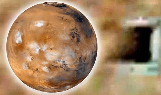 nasa bases extraterrestres subterraneas marte - Imágenes demuestran cómo la NASA oculta la existencia de bases extraterrestres subterráneas en Marte