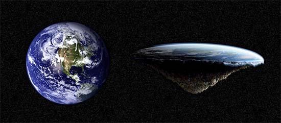 Teoría Tierra plana