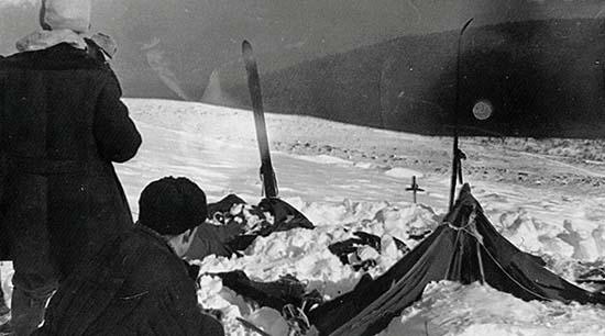 Excursionistas cadáver Paso Diatlov