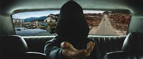 taxistas fantasmas - Taxistas recogen pasajeros fantasmas en las ciudades afectadas por el terremoto y tsunami de Japón de 2011