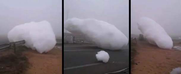"""nubes espuma marruecos - Misteriosas """"nubes de espuma"""" caen del cielo en Marruecos"""