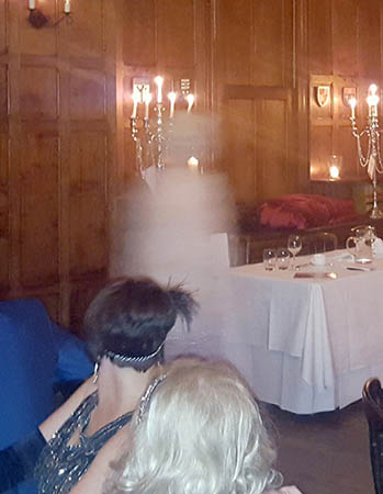 Presencia fantasmal antiguo hotel Gales