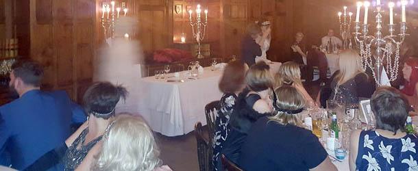 presencia fantasmal gales - Fotografía muestra una presencia fantasmal en un antiguo hotel de Gales