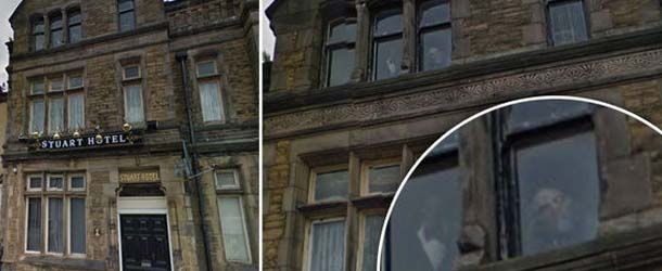rostros fantasmales hotel liverpool - Descubren unos rostros fantasmales en las ventanas de un hotel de Liverpool