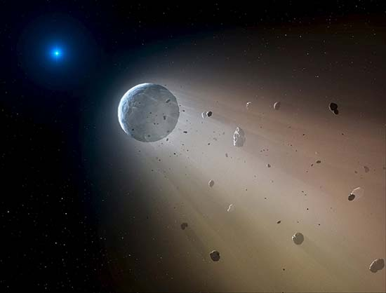 Bolas fuego asteroide apocalíptico