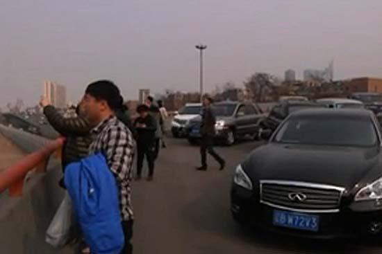 Ciudad flotante sobre China
