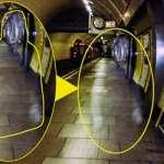 Fotografían el fantasma de Winston Churchill en una estación del metro de Londres