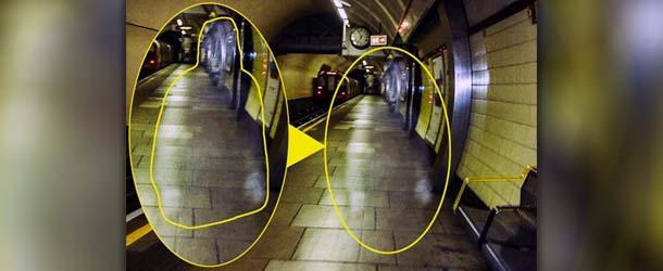 fantasma winston churchill - Fotografían el fantasma de Winston Churchill en una estación del metro de Londres