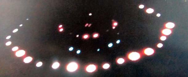 nave nodriza extraterrestre escocia - Un jubilado fotografía una nave nodriza extraterrestre en Escocia