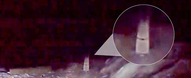 Video muestra el fantasma de una novia que murió hace 27 años en una carretera de Rusia