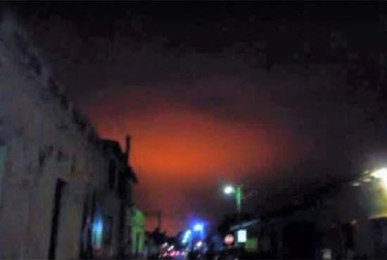 misteriosa bola fuego el salvador - Una misteriosa bola de fuego tiñe de rojo los cielos de El Salvador, ¿una señal más del fin de los tiempos?