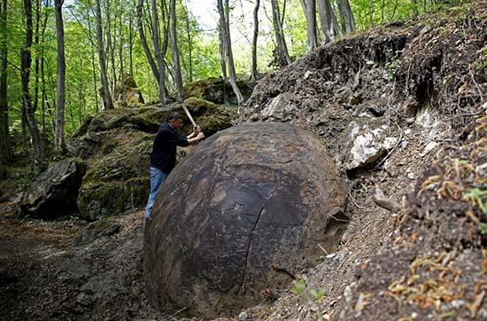 Misteriosa esfera gigante