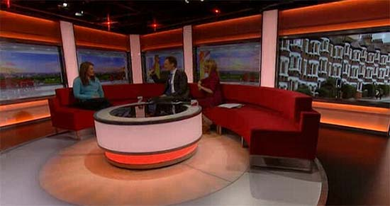 Sombra fantasmal programa BBC